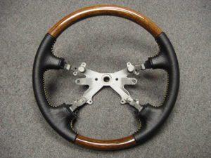 dodge ram wood grain steering wheel Dodge Truck Steering Wheel and Dash Trim – Craft Customs Steering