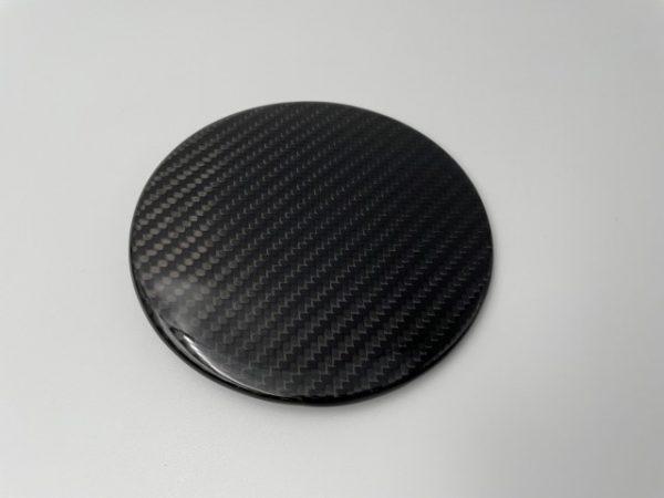Tesla Charging Port Carbon Fiber