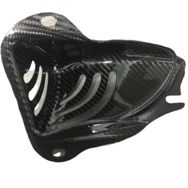 Custom molded carbon fiber Side Air Intake Vent Set that fits all Tesla Roadsters as well as the Lotus Elise